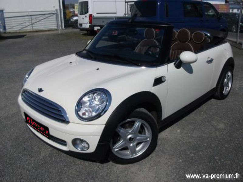 mini cooper cabrio 120 ch vente de voitures import es d 39 allemagne vente de voitures import es. Black Bedroom Furniture Sets. Home Design Ideas